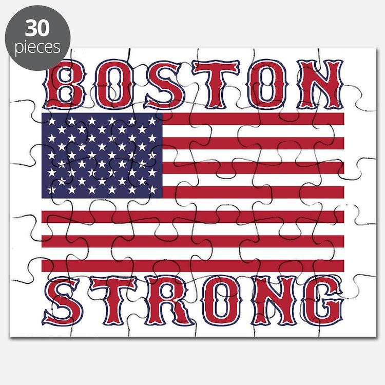 BOSTON STRONG U.S. Flag Puzzle