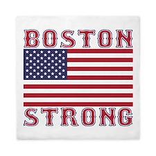 BOSTON STRONG U.S. Flag Queen Duvet
