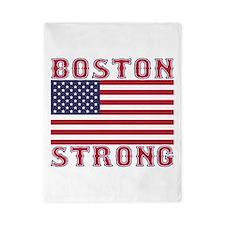 BOSTON STRONG U.S. Flag Twin Duvet