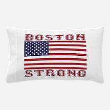 BOSTON STRONG U.S. Flag Pillow Case