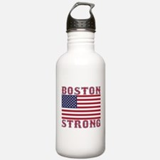 BOSTON STRONG U.S. Flag Water Bottle
