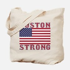 BOSTON STRONG U.S. Flag Tote Bag