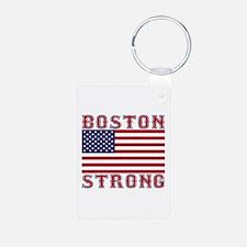 BOSTON STRONG U.S. Flag Keychains