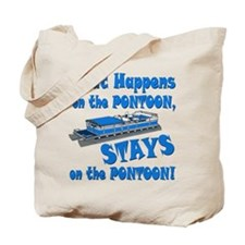 On The Pontoon Tote Bag