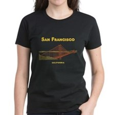 SF_12x12_GoldenGateBridge_Design3_Yellow T-Shirt