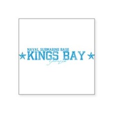 "NSBkingsbay.png Square Sticker 3"" x 3"""