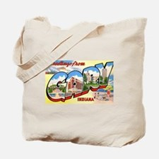 Gary Indiana Greetings Tote Bag