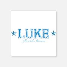 """base_luke_AF.jpg Square Sticker 3"""" x 3"""""""