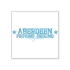 "aberdeenprovingground.png Square Sticker 3"" x 3"""