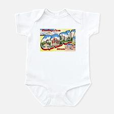 Gary Indiana Greetings Infant Bodysuit