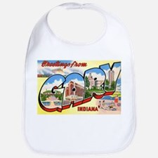 Gary Indiana Greetings Bib