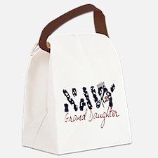 navygranddaughter.jpg Canvas Lunch Bag