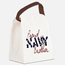 proudnavybrother.jpg Canvas Lunch Bag
