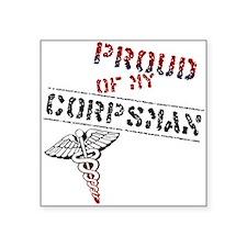 """corpsmanpride.jpg Square Sticker 3"""" x 3"""""""