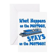 On The Pontoon Greeting Cards (Pk of 10)