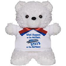 On The Pontoon Teddy Bear