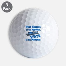 On The Pontoon Golf Ball
