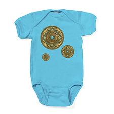 Pisces Dark Baby Bodysuit