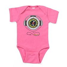 Music of Life Dark Baby Bodysuit