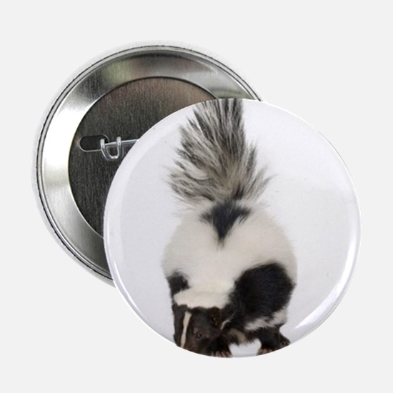 "Beautifull moufette, skunk 2.25"" Button"