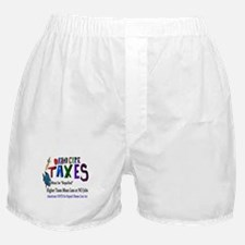 Obama Care Taxes Boxer Shorts