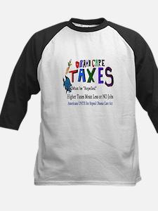 Obama Care Taxes Baseball Jersey