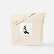 moufette skunks Tote Bag