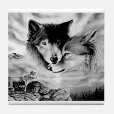 Wolves Tile Coaster