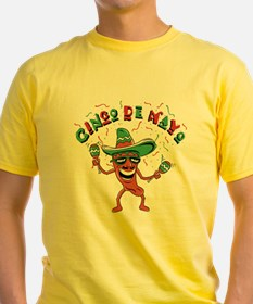 Cinco de Mayo Chili Pepper T-Shirt