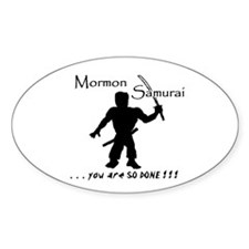 Mormon Samurai Decal