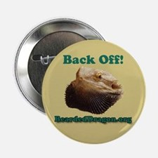 """""""Back Off!"""" Button (tan)"""