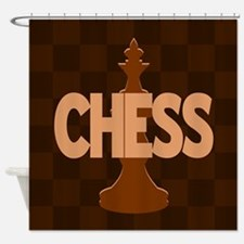 King of Chess Shower Curtain