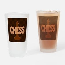 King of Chess Drinking Glass