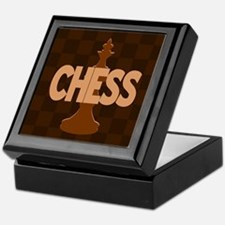 King of Chess Keepsake Box