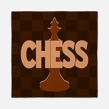 King of Chess Queen Duvet