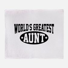 World's Greatest Aunt Stadium Blanket