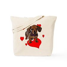 Love Dachshunds Tote Bag