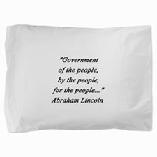 Lincoln - Of the People Pillow Sham