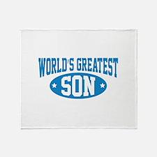 World's Greatest Son Stadium Blanket