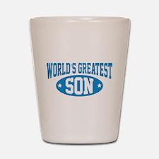 World's Greatest Son Shot Glass