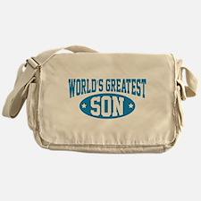 World's Greatest Son Messenger Bag