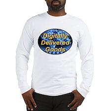 Digitally Delivered Goods Long Sleeve T-Shirt