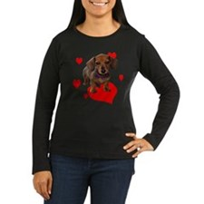 Love Dachshunds Long Sleeve T-Shirt