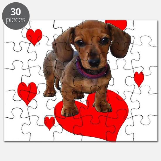 Love Dachshunds Puzzle