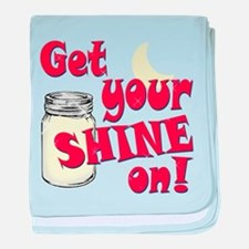Get your Shine on baby blanket