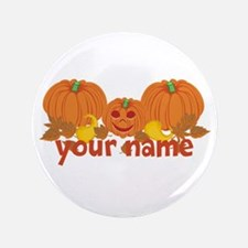 """Personalized Halloween 3.5"""" Button"""
