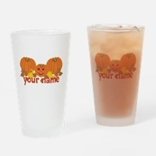 Personalized Halloween Drinking Glass