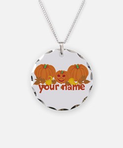 Personalized Halloween Necklace