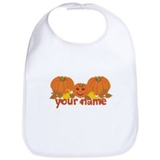 Personalized Halloween Bib