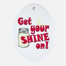 Get your Shine on Ornament (Oval)